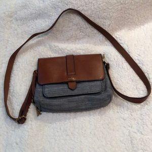 Fossil shoulder purse
